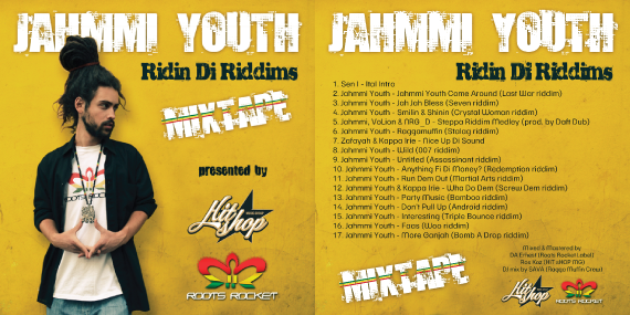 "Jahmmi Youth – ""Ridin Di Riddims"" Mixtape"